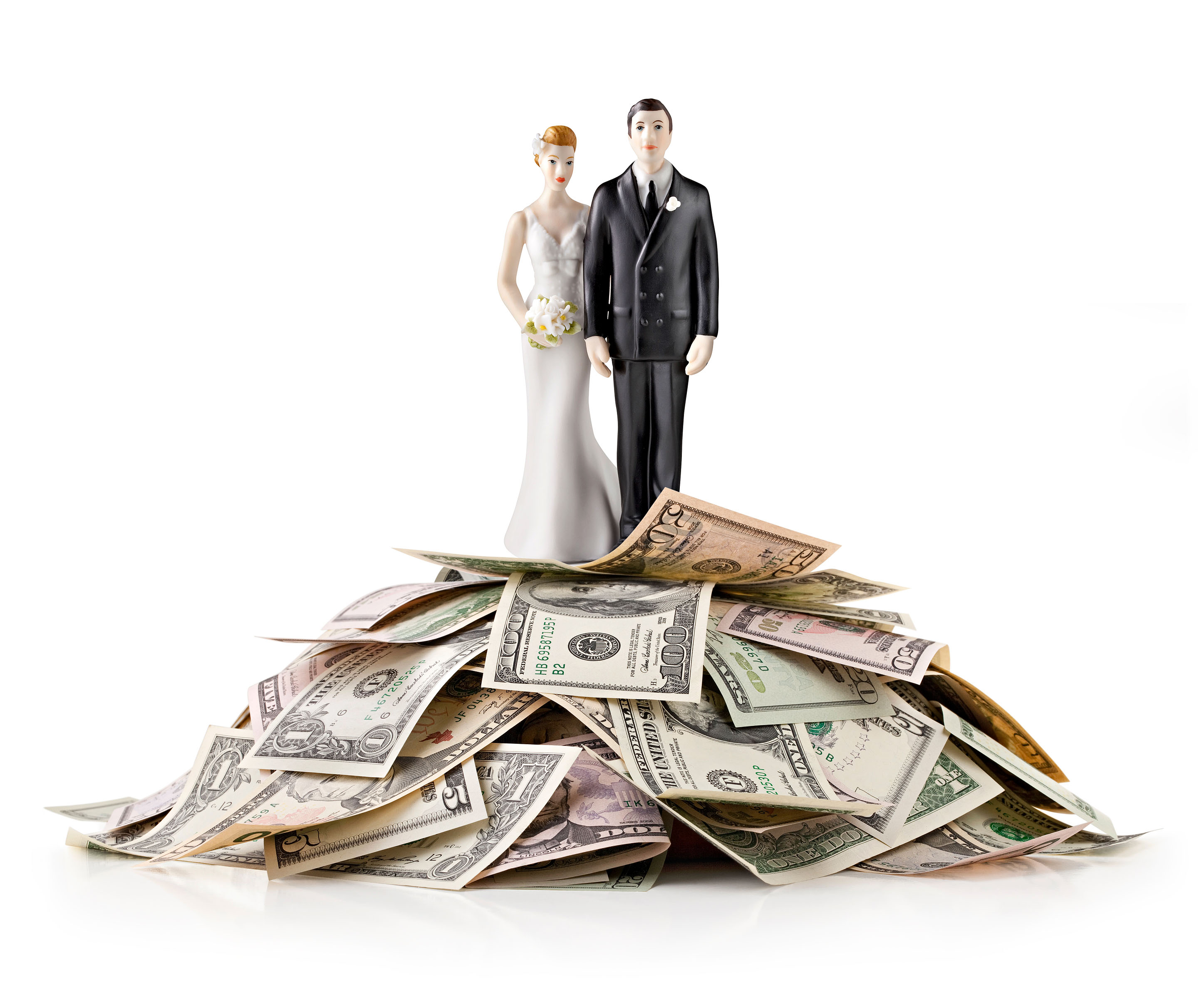 wedding topper cash