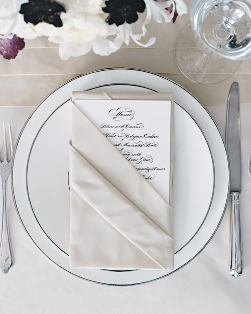 Formal Menus