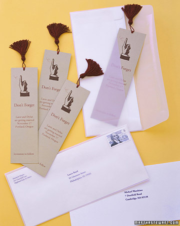Save-the-Date Bookmark