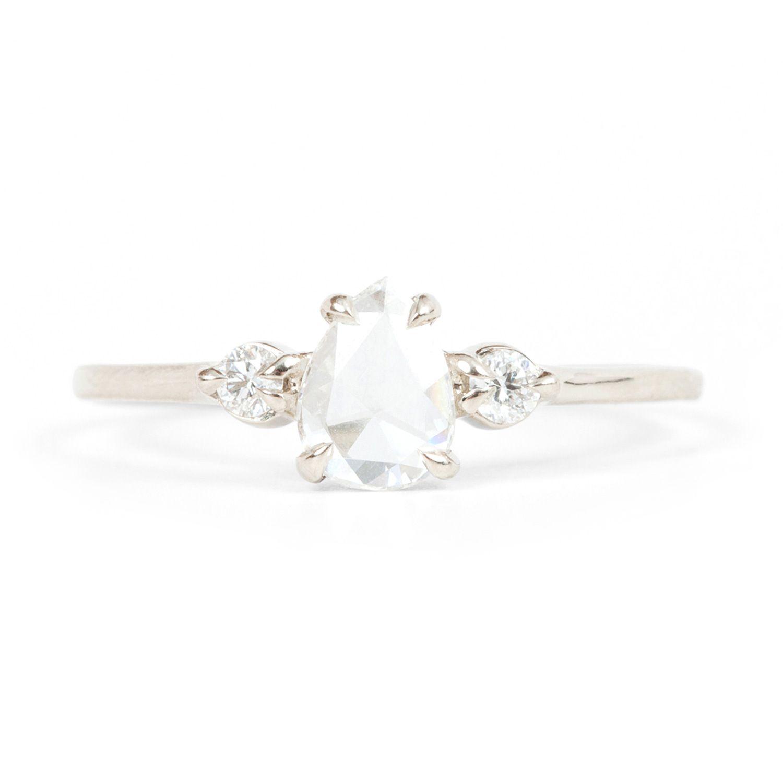 Catbird Wedding Leda the Swan Platinum Ring