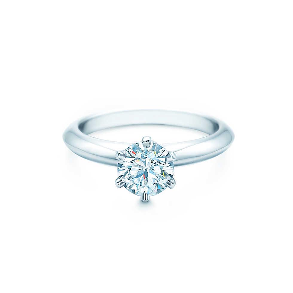 tiffany and co. platinum ring tiffany setting