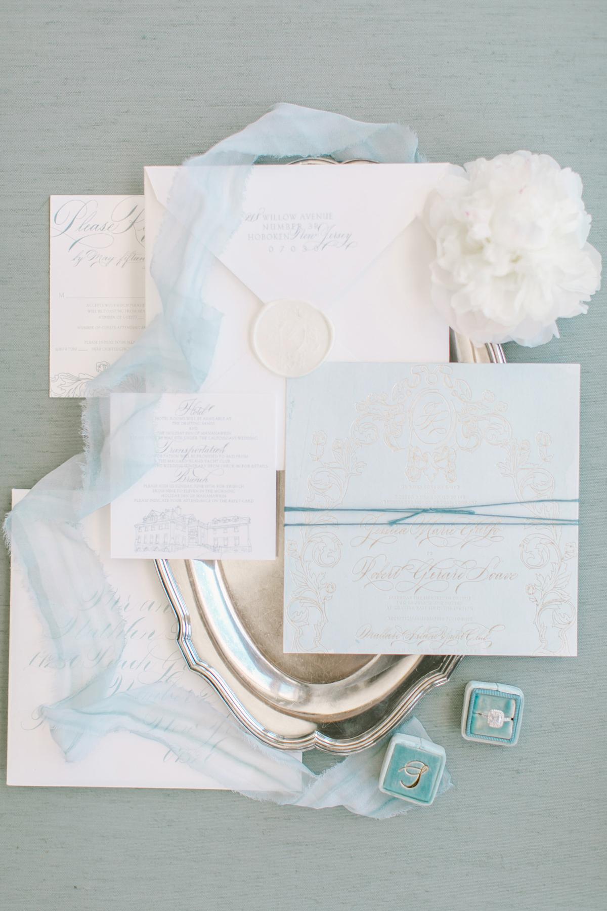 blue wedding ideas love and light