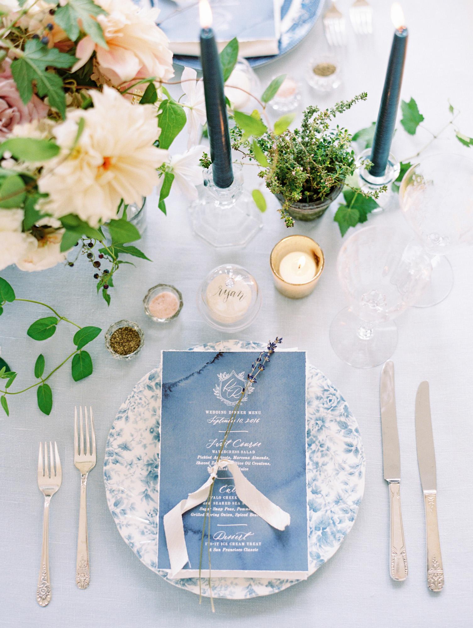 blue wedding ideas ryan ray