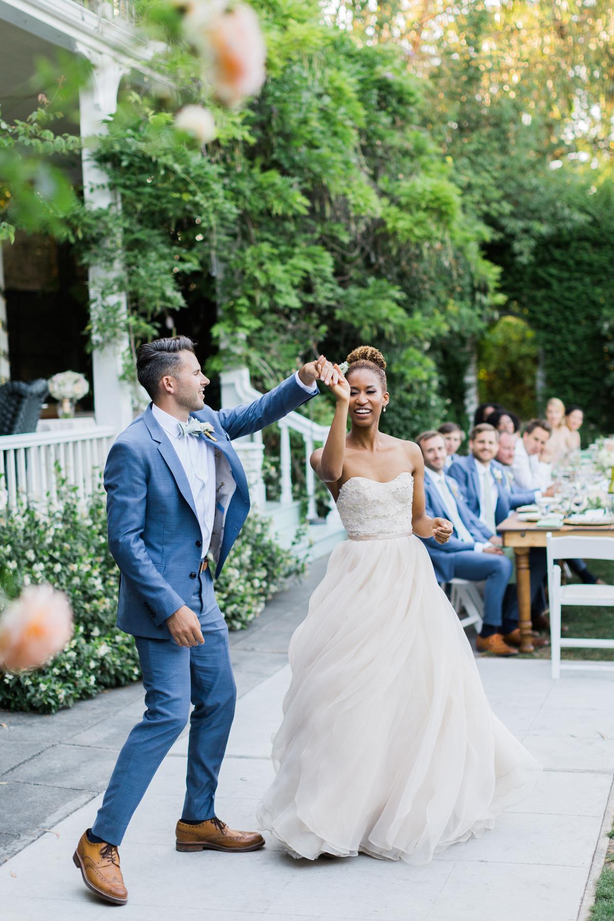 blue wedding ideas alison d photography