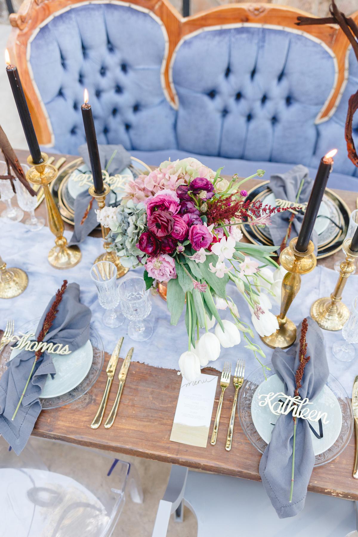 blue wedding ideas mila photography