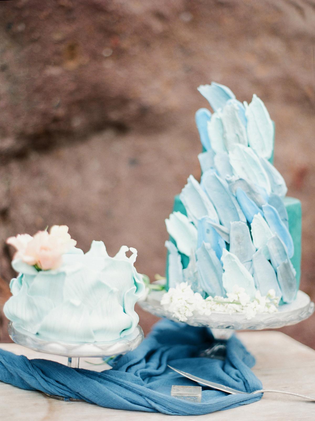 blue wedding ideas shay photography