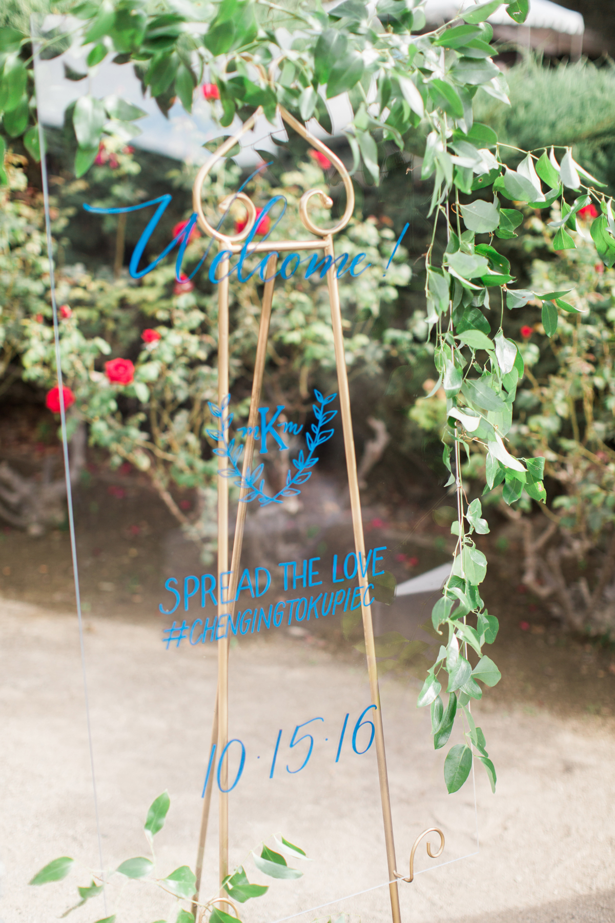 blue wedding ideas brandon kidd