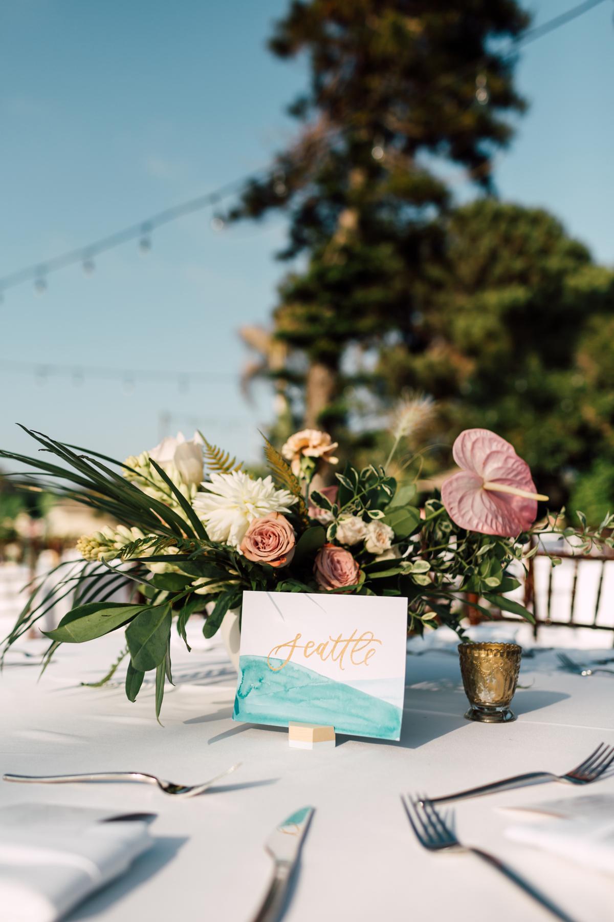 blue wedding ideas elyse whall
