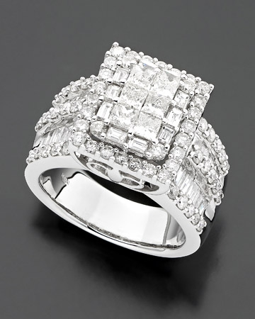 3 ct. t.w Diamond Ring
