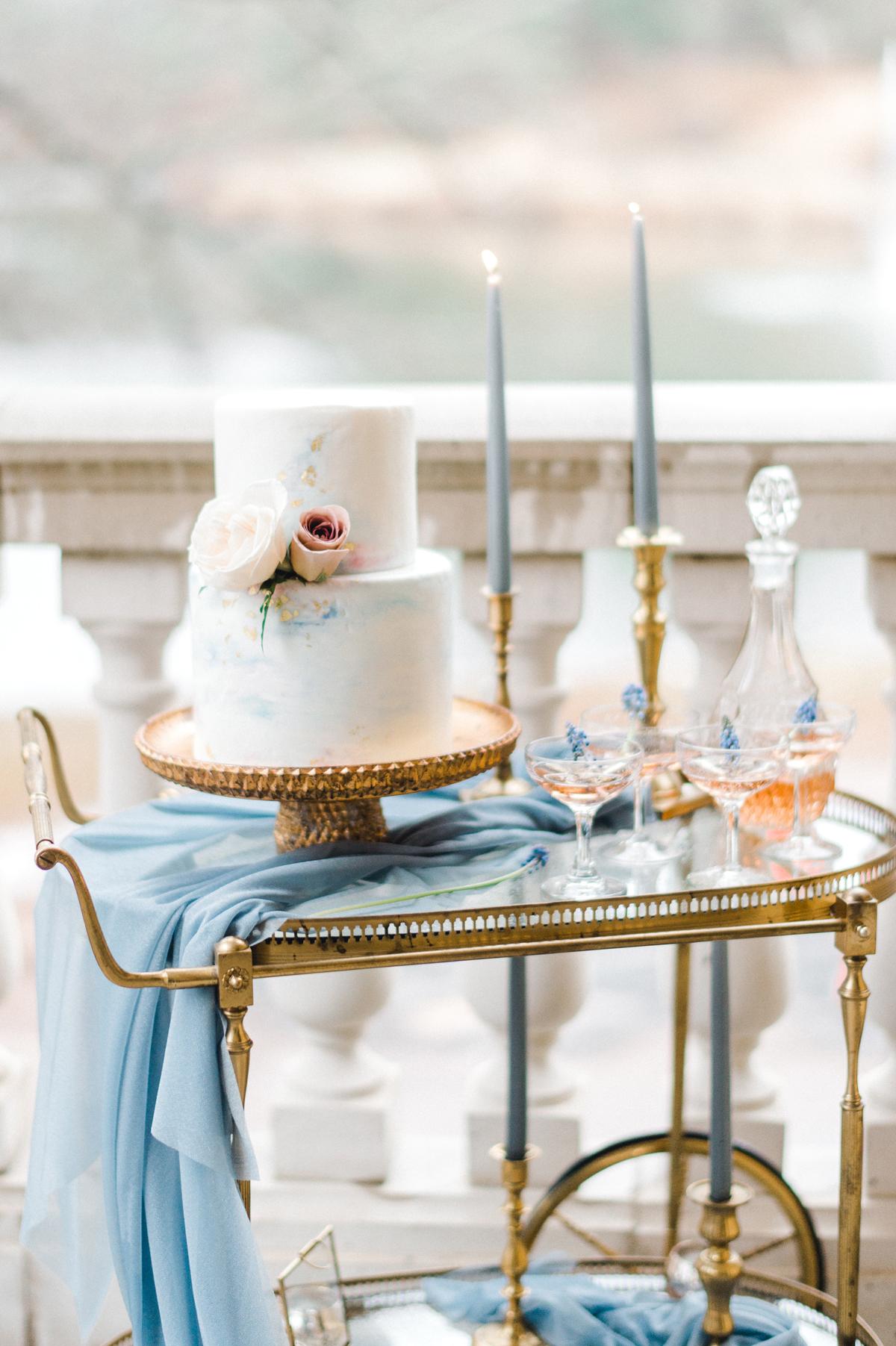 blue wedding ideas jenny b photography