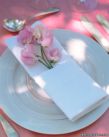 Napkin In Bloom