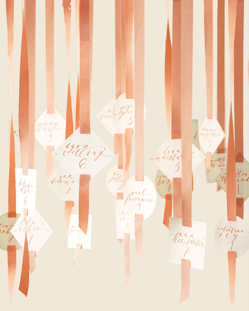Ebullient Escort Cards