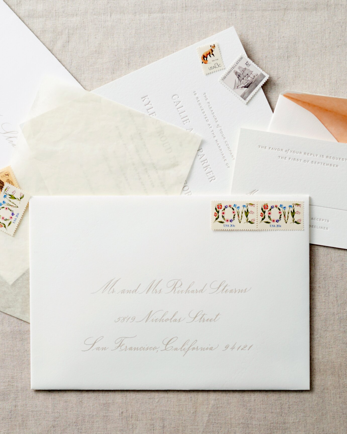 How To Address Guests On Wedding Invitation Envelopes Martha