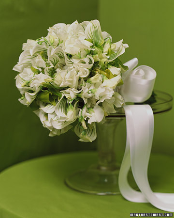 Sweet Peas and Orchids