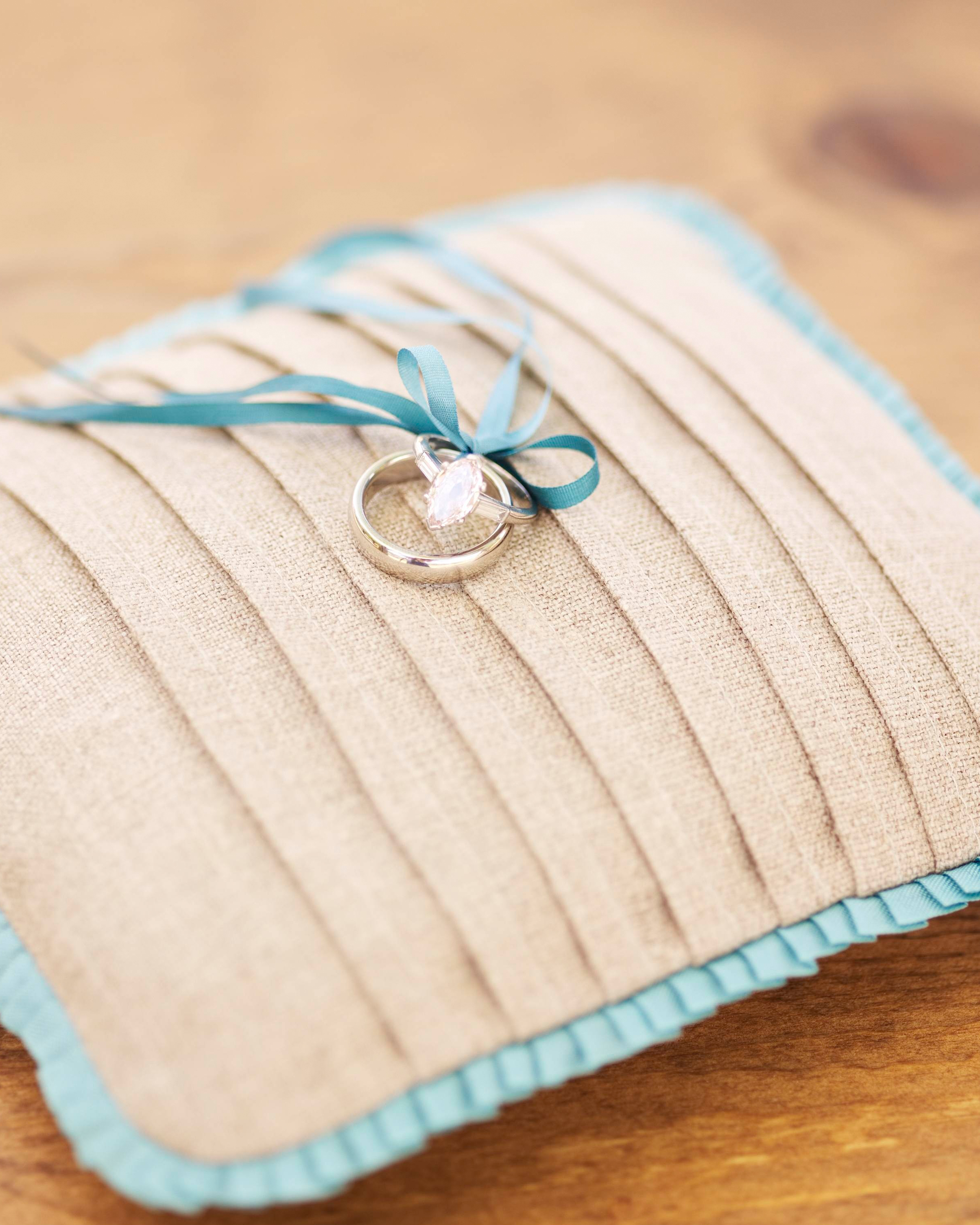 Linen Ring Pillow