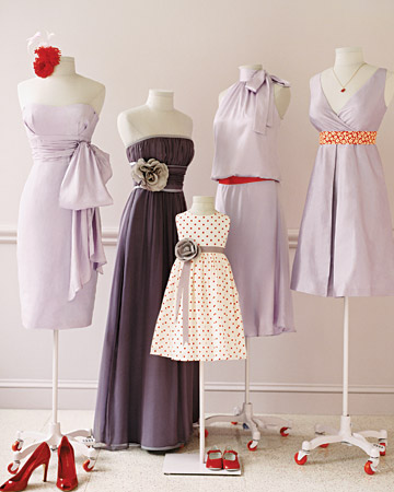 Bridesmaid and Flower Girl Dresses