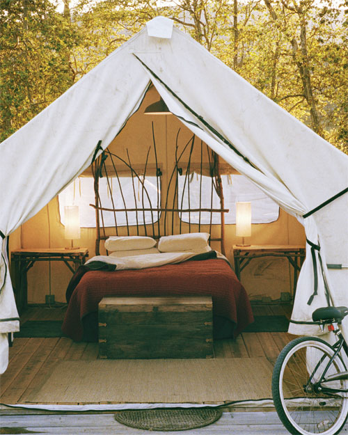 Glam Camping: California