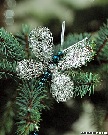Beaded Butterfly Ornaments