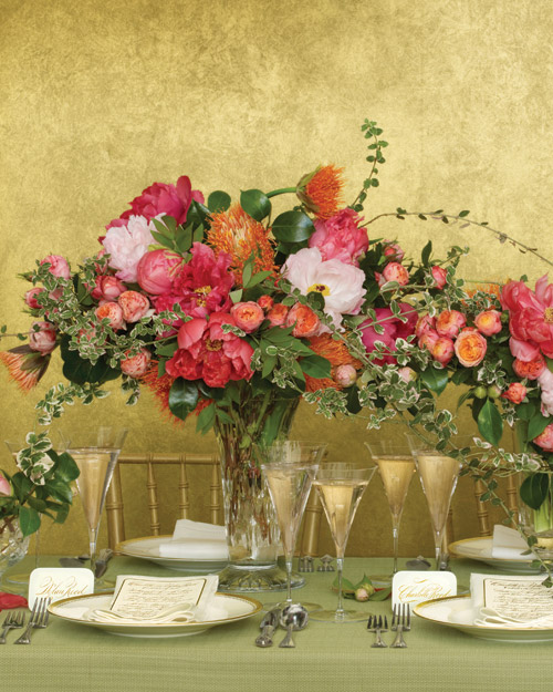 Go Long with Your Flowers: For Your Centerpieces