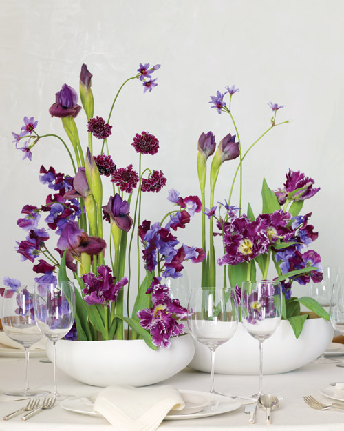 Reach High with Your Flowers: For Your Centerpieces