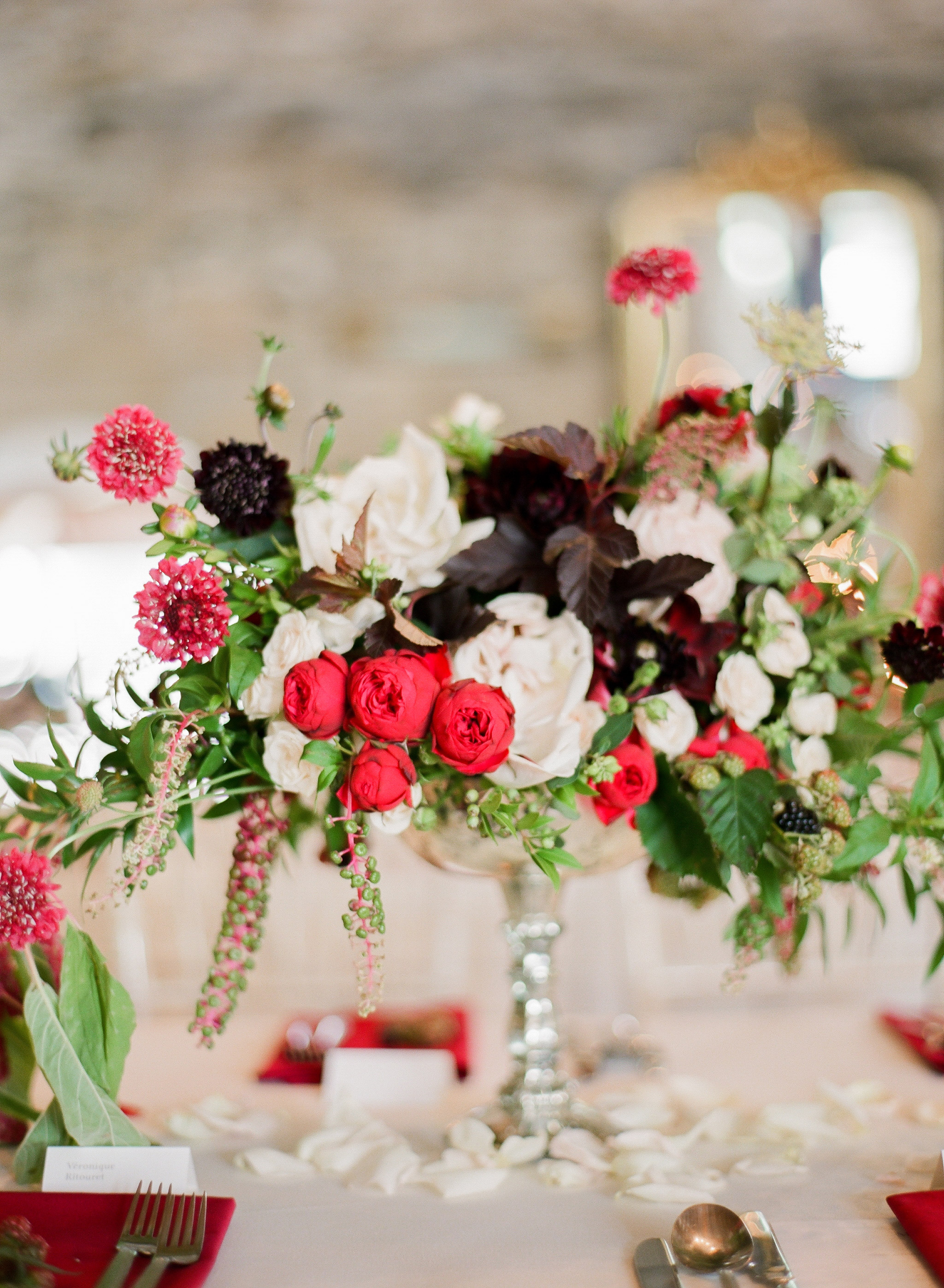 Overflowing Centerpieces