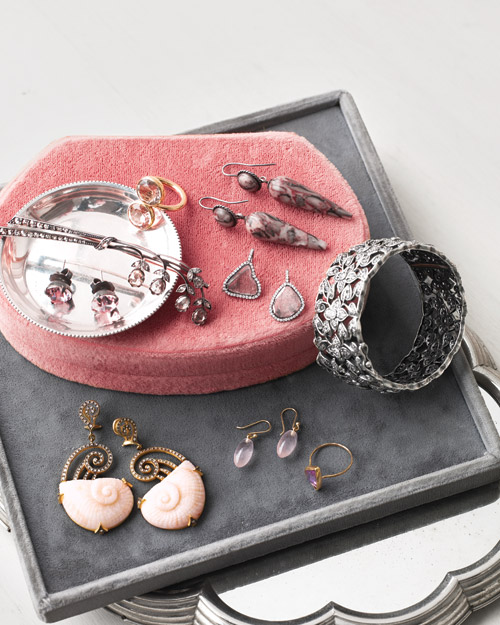 Jewelry in Pink and Gray