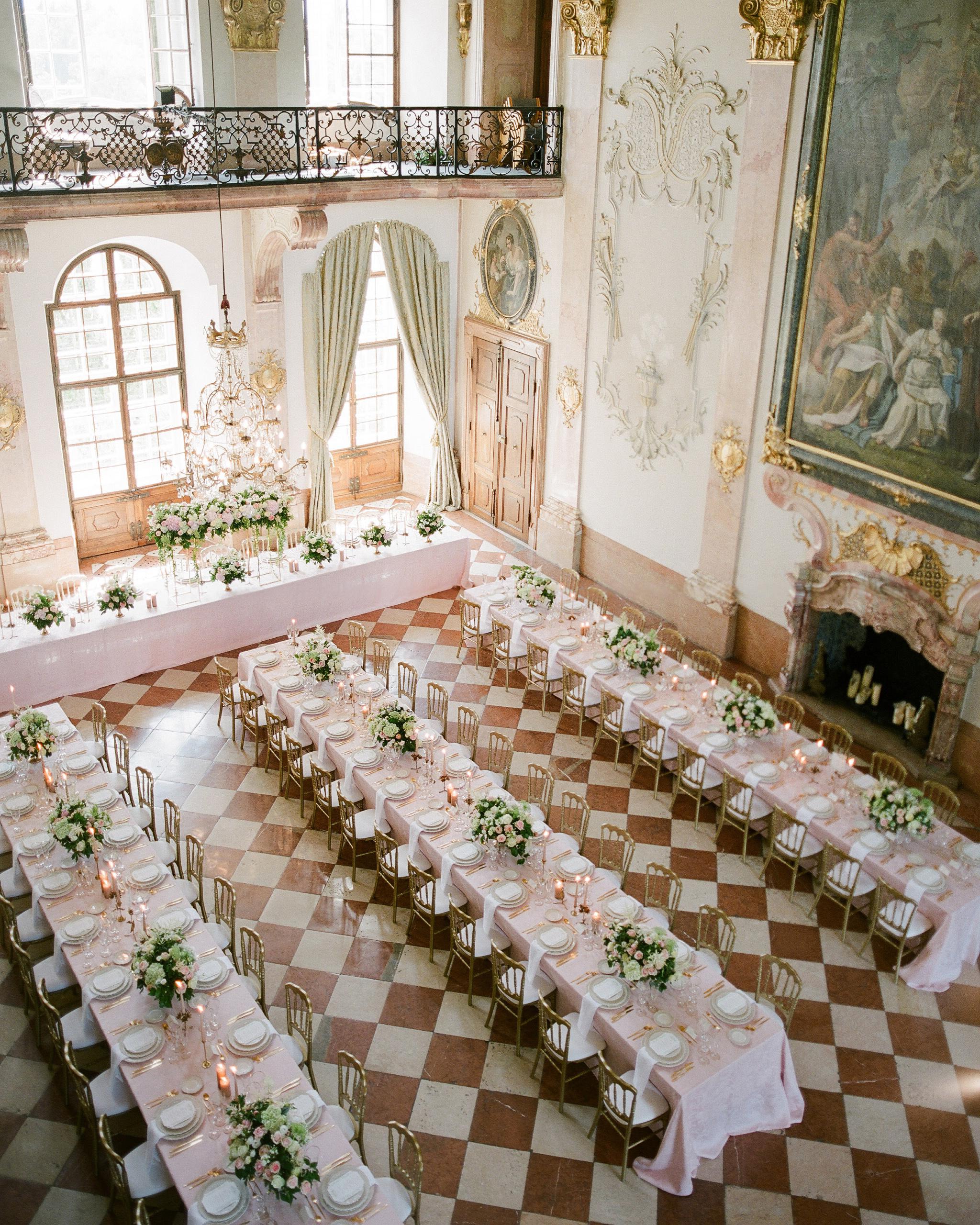 glamorous wedding ideas elegant venue palace