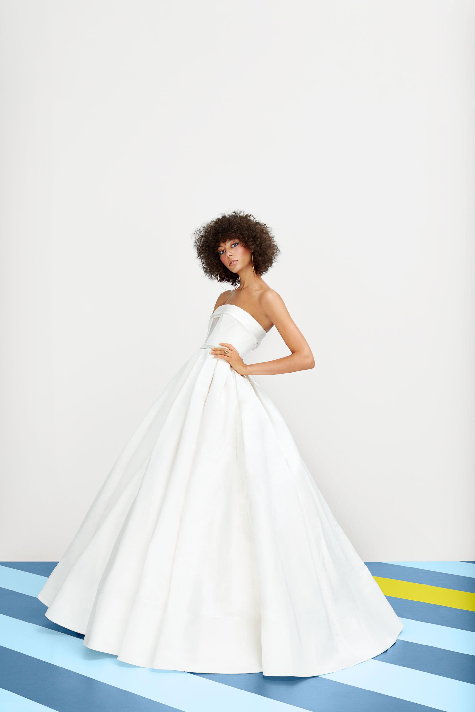 A Guide To Every Wedding Dress Silhouette Martha Stewart