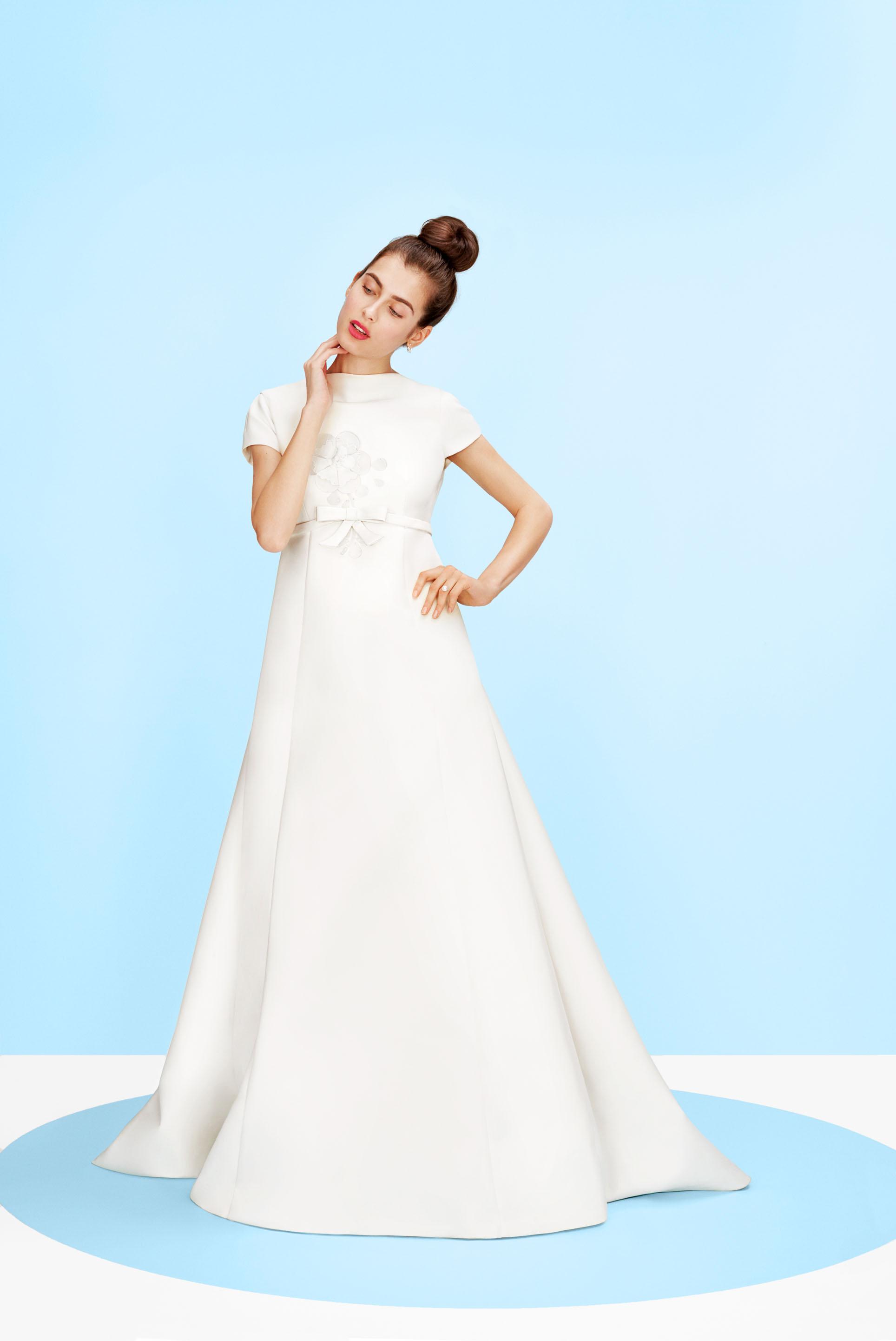 A Guide To Every Wedding Dress Silhouette Martha