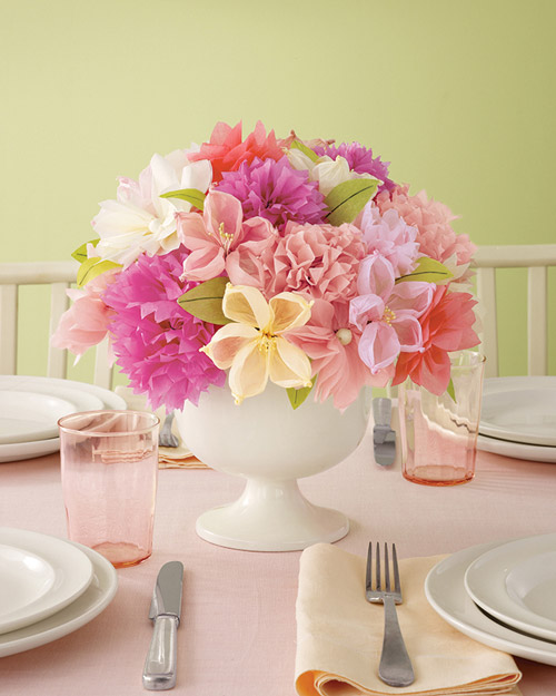 Martha Stewart Crafts Tissue Paper Bouquet Kit