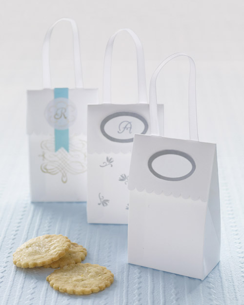 Martha Stewart Crafts Customizable Ribbon Handle Favor Boxes