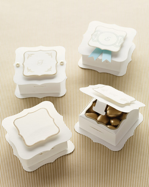 Martha Stewart Crafts Customizable Flourish Favor Boxes