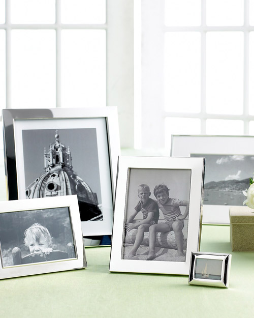 Martha Stewart Collection Silver Plated Frame Collection
