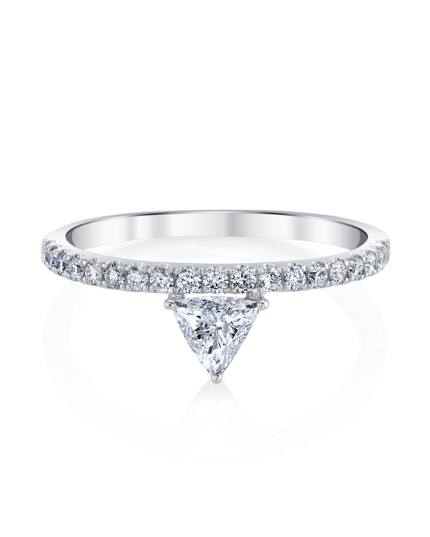 Anita Ko Luxe Triangle Ring