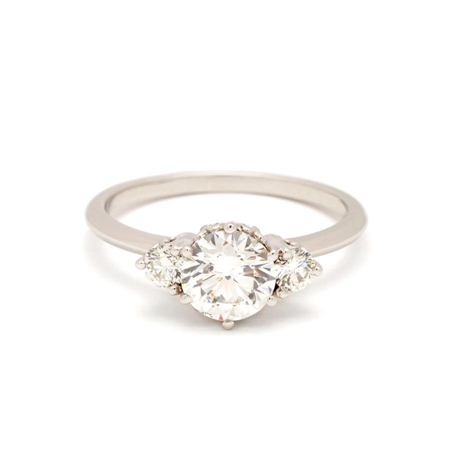 "Anna Sheffield ""Hazeline"" Three-Stone Ring"