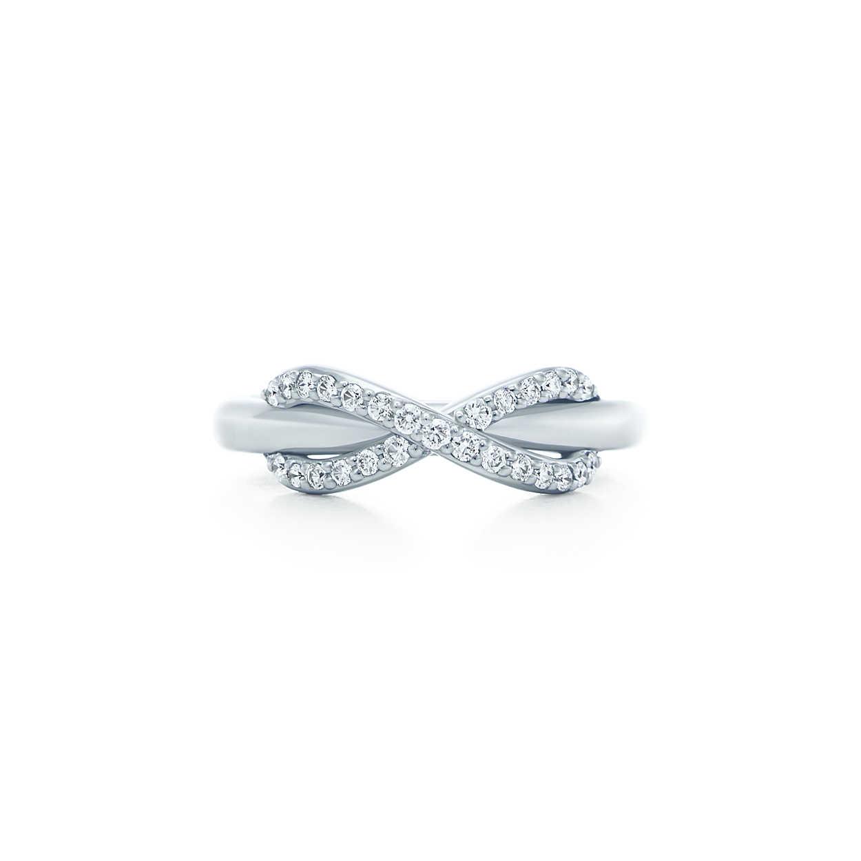 """Tiffany & Co. """"Infinity"""" Ring"""