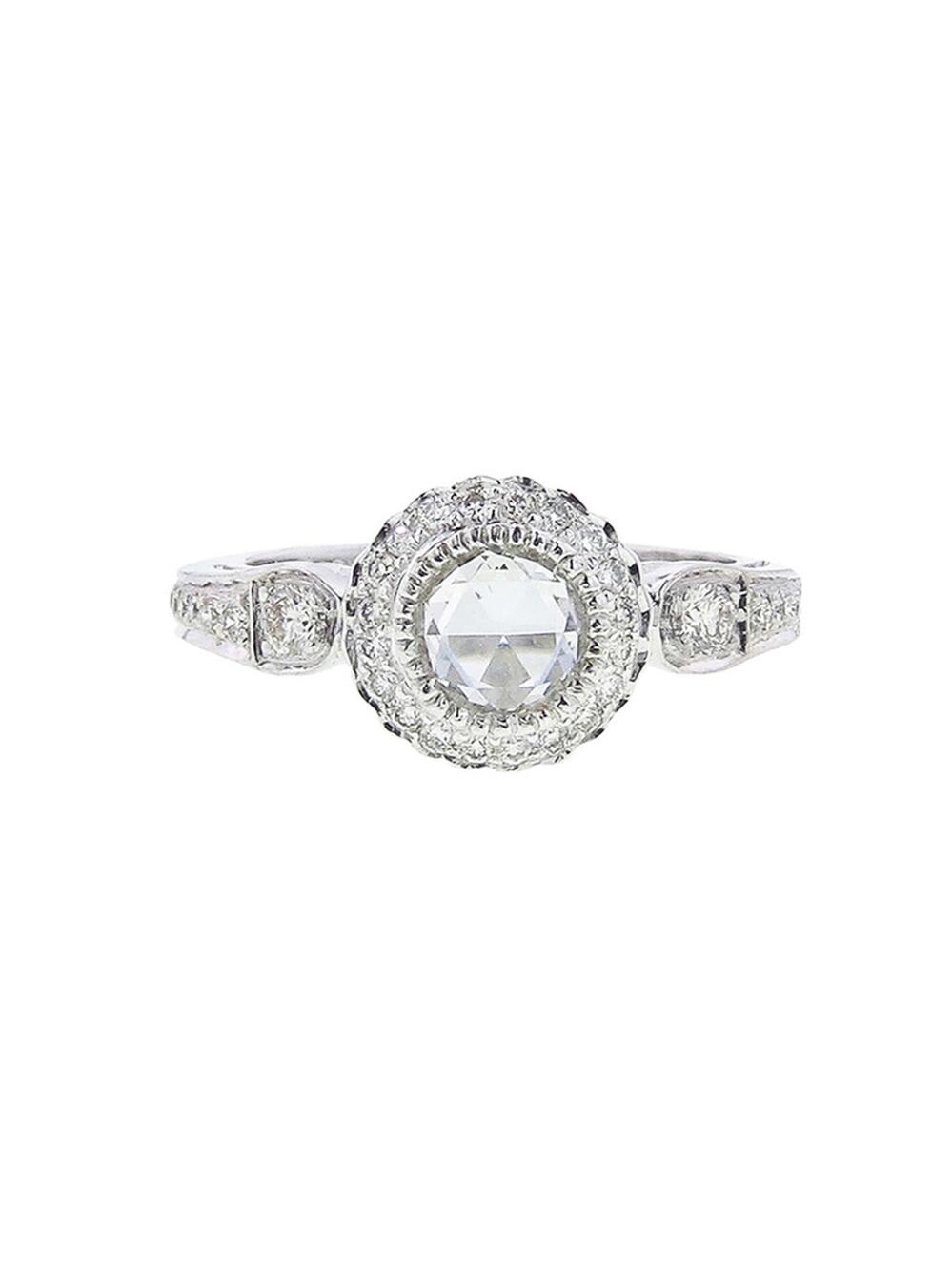 Sethi Couture White Diamond Ring