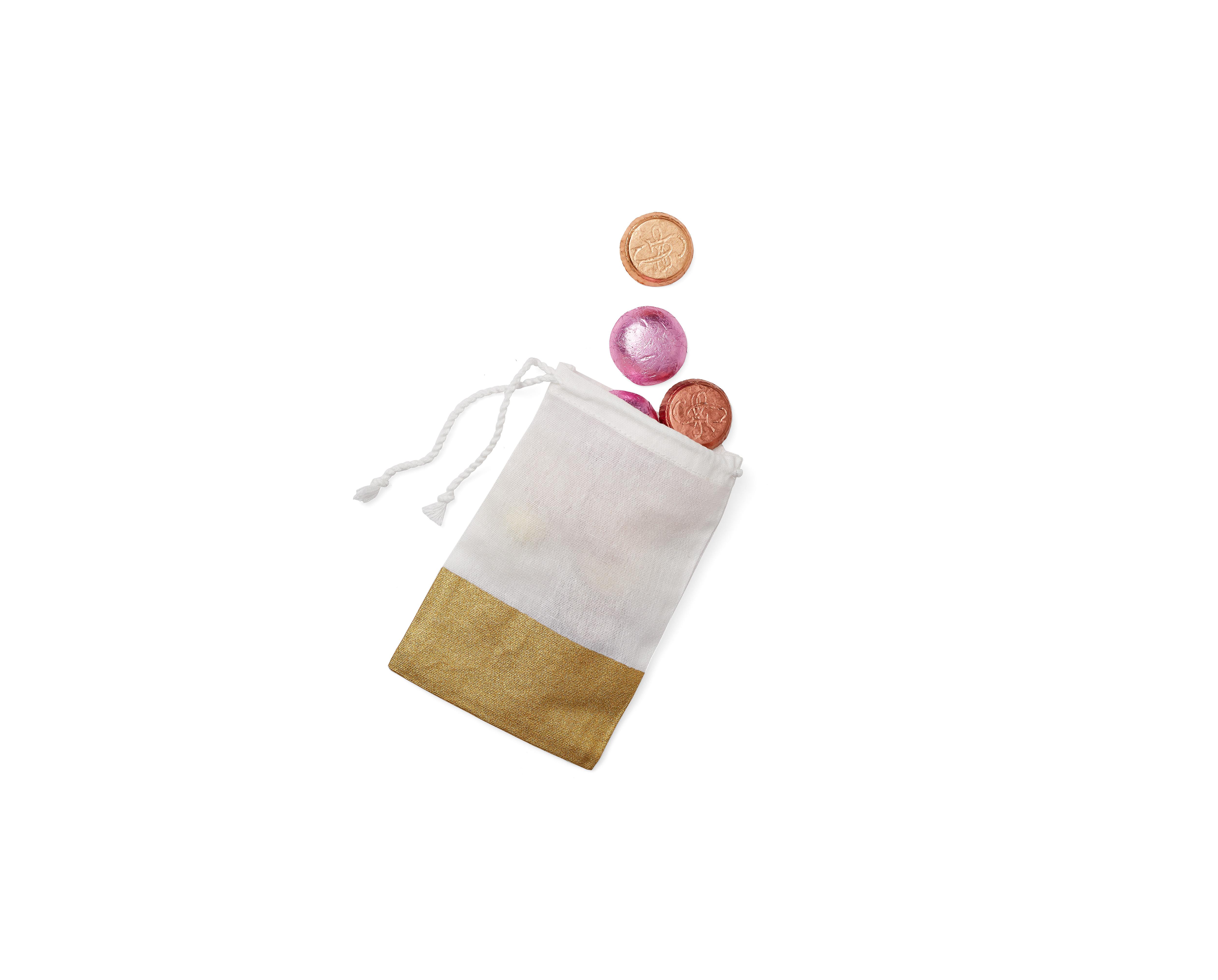 paper source gold baggies