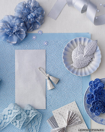 Blue and Silver Inspiration
