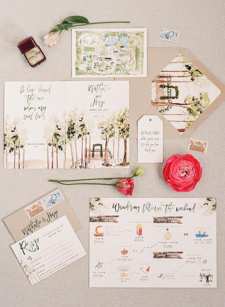 32 Destination Wedding Invitations That