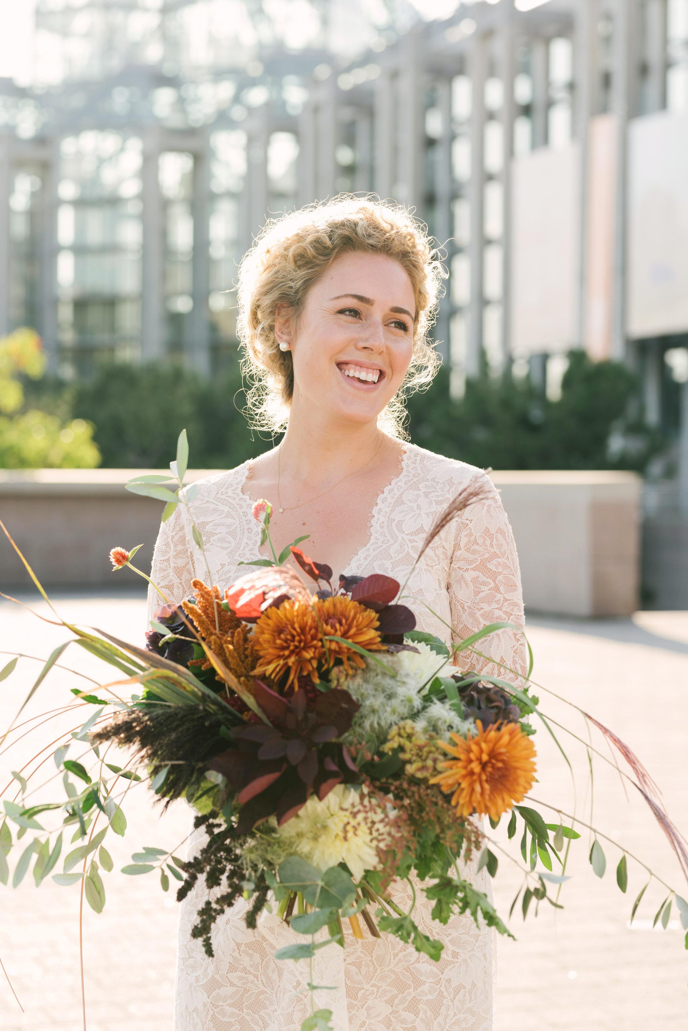 molly michael wedding bouquet