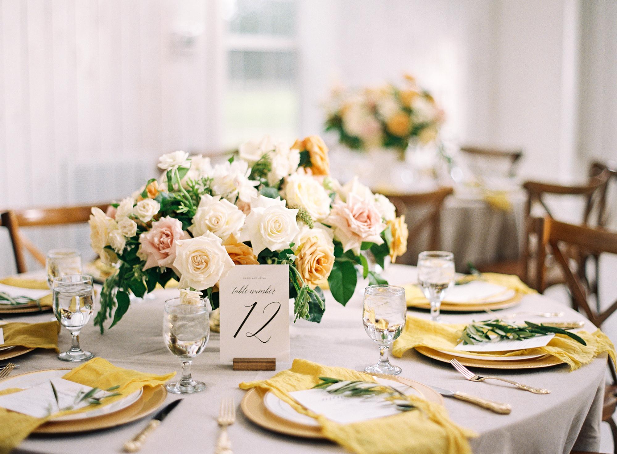 yellow wedding ideas kayla barker