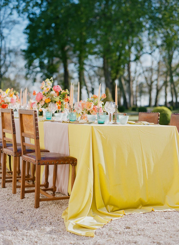 yellow wedding ideas sylvie gil
