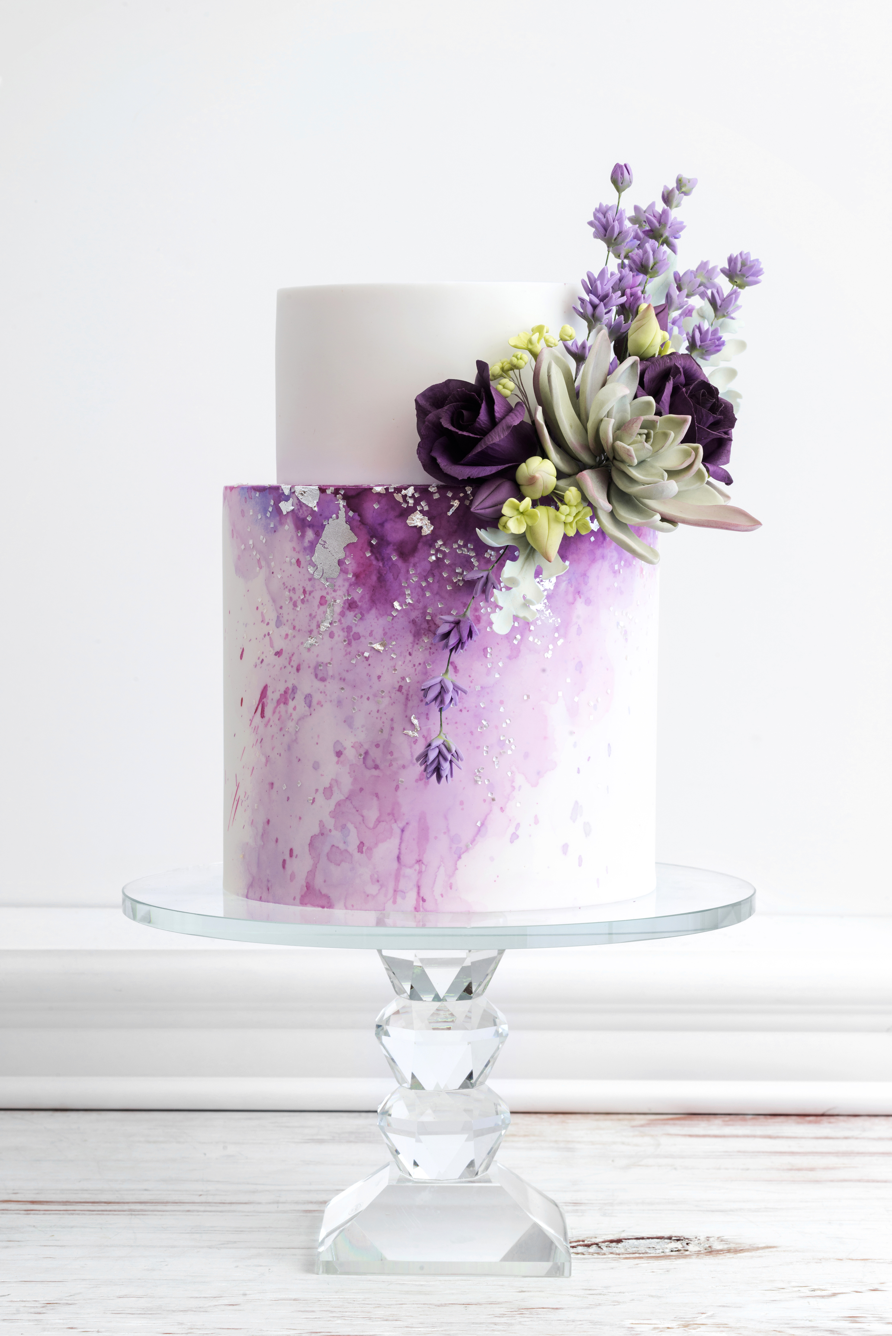 pastel wedding cake de la creme creative studio