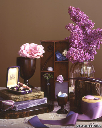 Lilac and Brown Inspiration