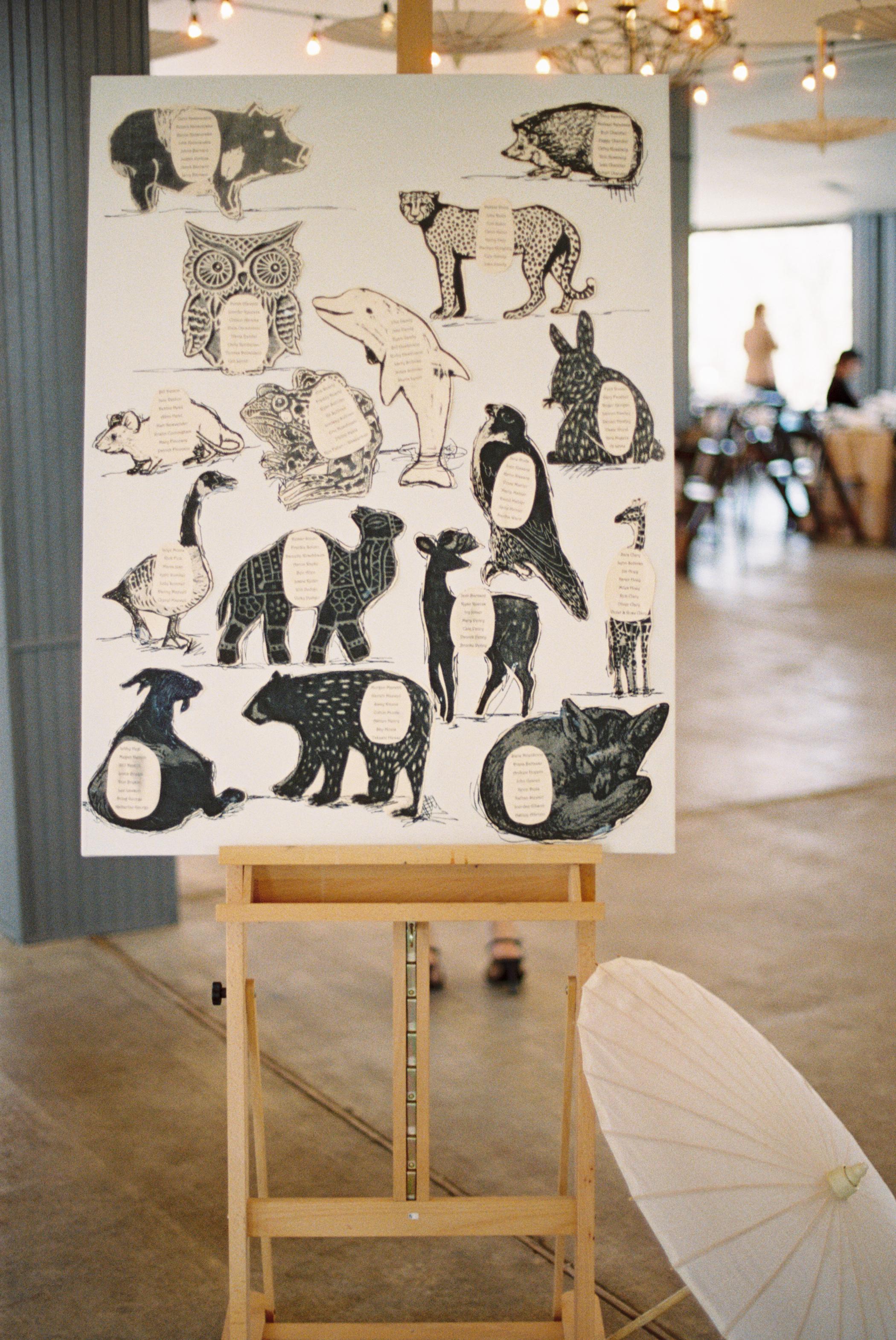 animal seating display