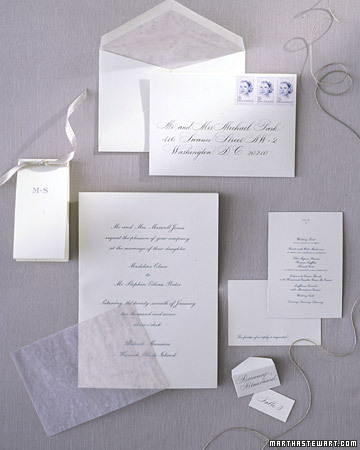 Engraved Stationery