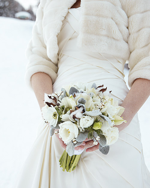White-and-Gray Bouquet