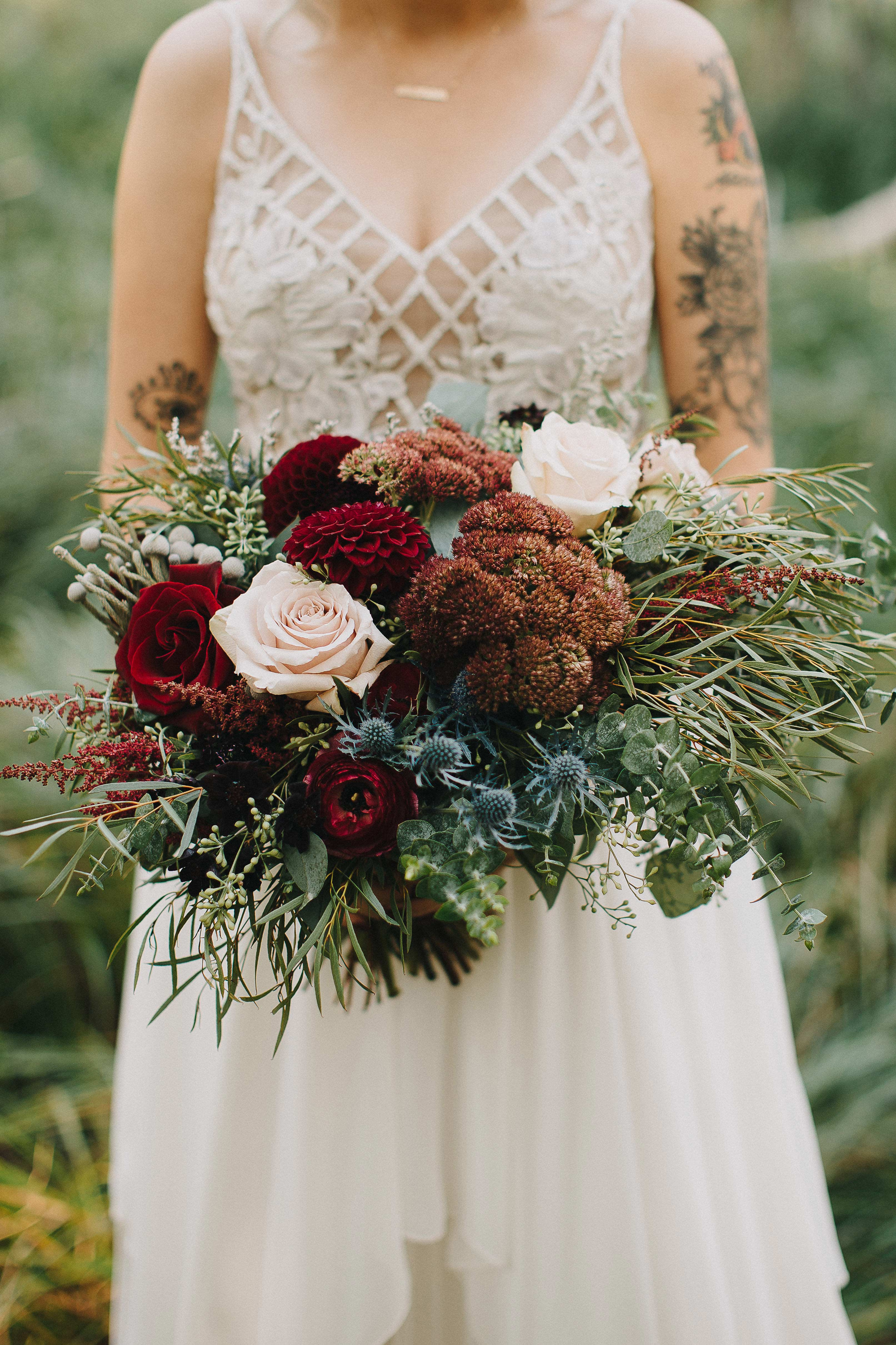 fall wedding bouquet