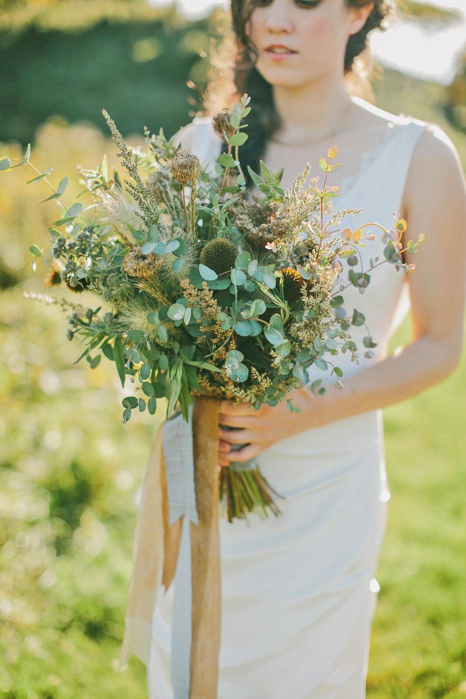 nonfloral wedding bouquets emily delamater